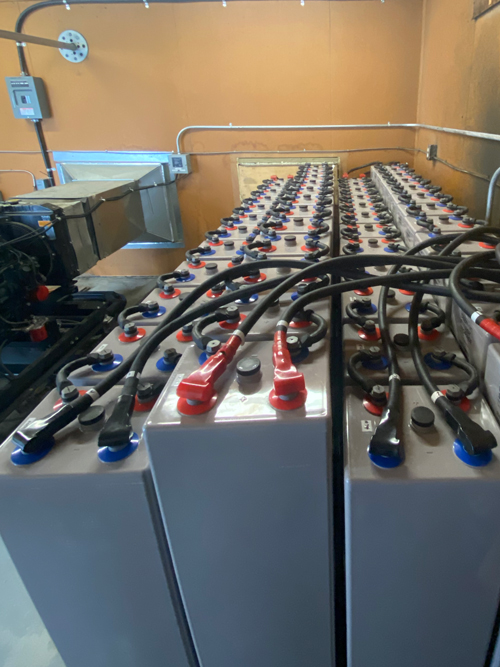 KLRS battery bank